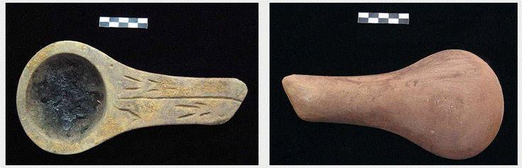 NOTICIAS DE PREHISTORIA - Prehistoria al Día -: Los sistemas de iluminación en el Paleolítico parte 2: Las lámparas portátiles en Francia