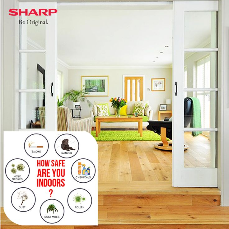 """Get a """"PROVEN"""" air purifier with a patented Plasmacluster Ion Technology.  Sharp Air purifiers have been proven effective in 28 Lab tests.  Trusted by more than 7 crore users.   Plasmacluster Ion technology for sanitizing the air and surface in the room.   Indoor air pollution results in 1.6 to 2 billion sick days per year in India.  Break free from the illusion of Air Conditioners.  Cool Air doesn't mean Safe Air.  Air conditioners circulate the same stale air, cooled and recycled."""