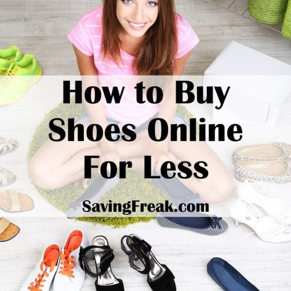 Buying shoes is a PAIN!!  Once you learn the best ways to buy shoes online, not only do you not have to go out to the store you can actually save a ton of money.
