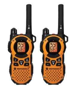 Amazon.com: Motorola MT350R FRS Weatherproof Two-Way - 35 Mile Radio Pack - Orange: Cell Phones & Accessories