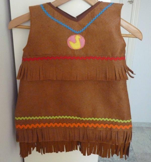 Cómo hacer un disfraz de indio para niños - 8 pasos