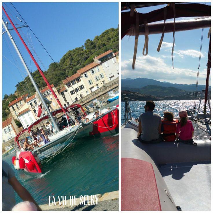 Selky a visité Port Vendres, son hôtel Ibis Styles détente & family friendly & la côte Vermeille merveilleuse : plage, piscine, catamaran et tortues insaïde