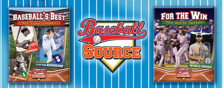 Baseball-Source_Step up to the plate and learn all about baseball! This exciting series features the history of baseball, the game's top players of all time, and tips and tricks on how to be a better ball player. An overview of the World Series and other championships is also featured. Colorful photographs and interesting fact boxes cover all the bases for readers in this overview of one of the world's best-loved sports. Gr 3-6