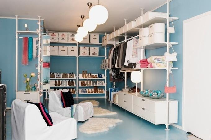 Schreibtisch Ikea Selbst Zusammenstellen ~ IKEA, walk in closet M's Apartment Pinterest
