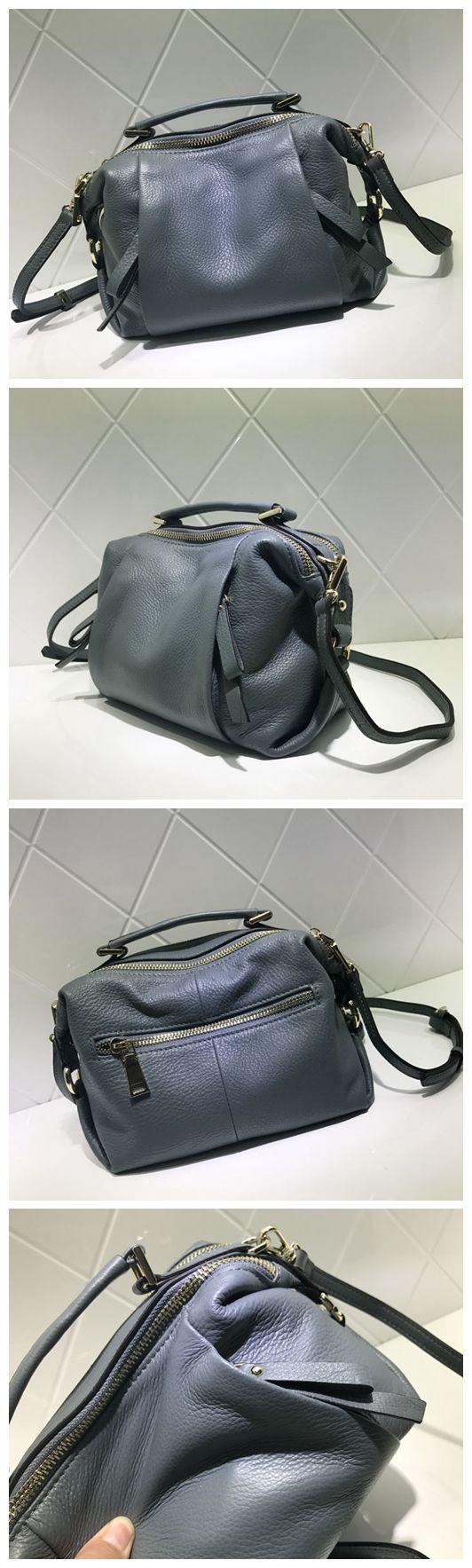Women Fashion Genuine Natural Leather Bag Handbag Messenger Bag Shoulder Bag Cross Body Bag AM06 Overview: Design: Women Fashion Handbag In Stock: 3-5 days For Making Include: Only Handbag Color: Red,