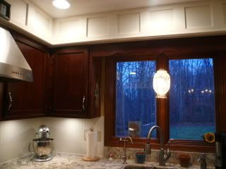 What To Do With Kitchen Soffit Above Cabinets Kitchens Forum Gardenweb
