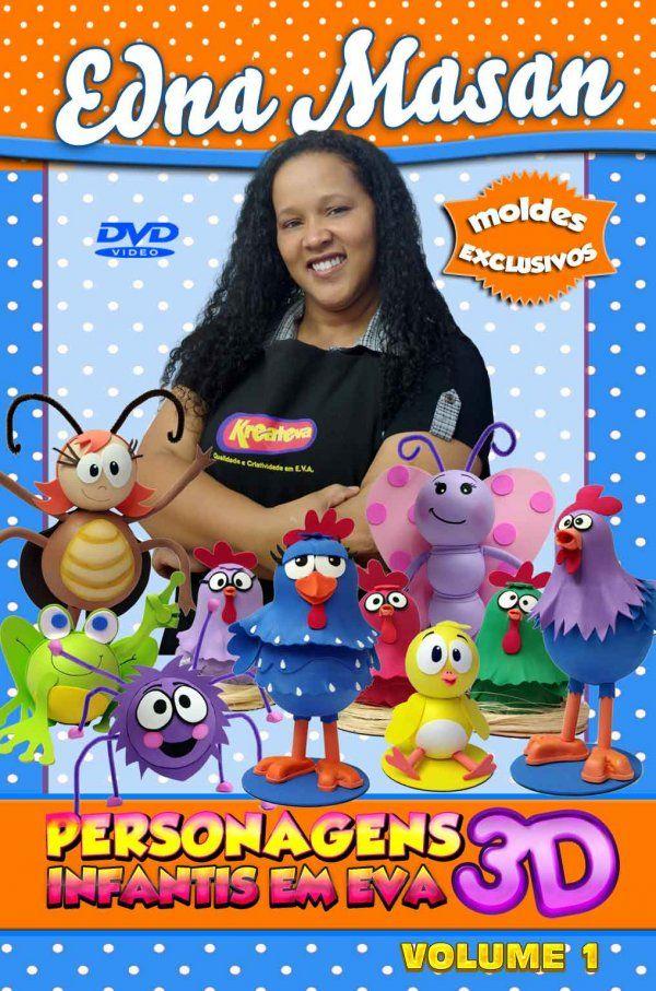 Lojinha Masan Arteira - DVD - Turma da Galinha Pintadinha em eva