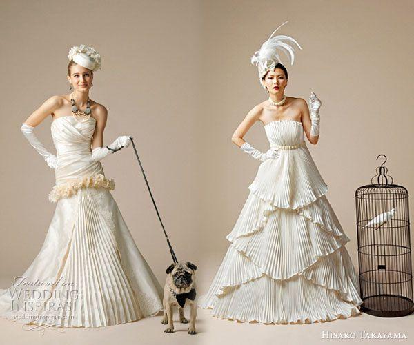 222 Best UNIQUE WEDDING GOWNS Images On Pinterest