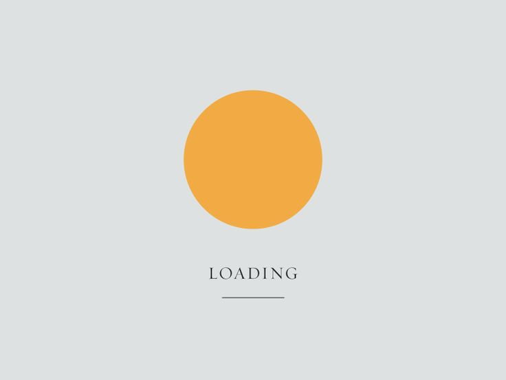 Loading (GIF) by Andreas Brixen