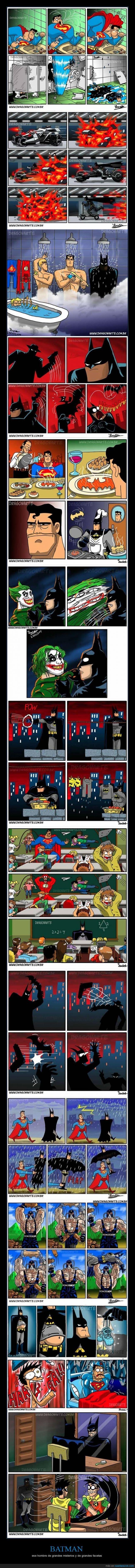 BATMAN - ese hombre de grandes misterios y de grandes facetas