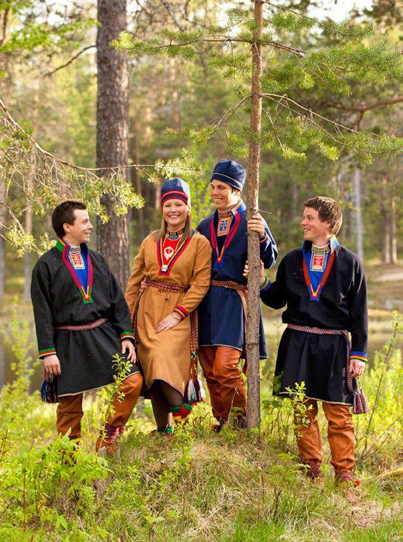 Jokkmokk Sami costumes