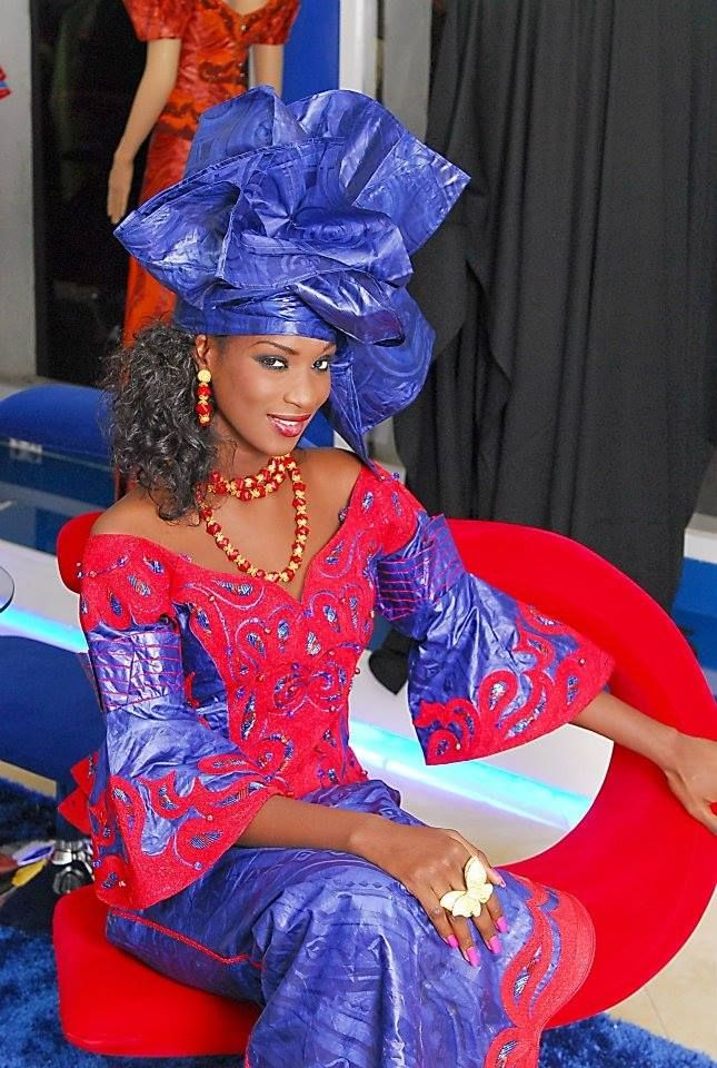 senegalese model and actress Lissa