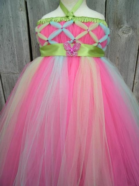 tutu dress, tulle, tulle, and more tulle!