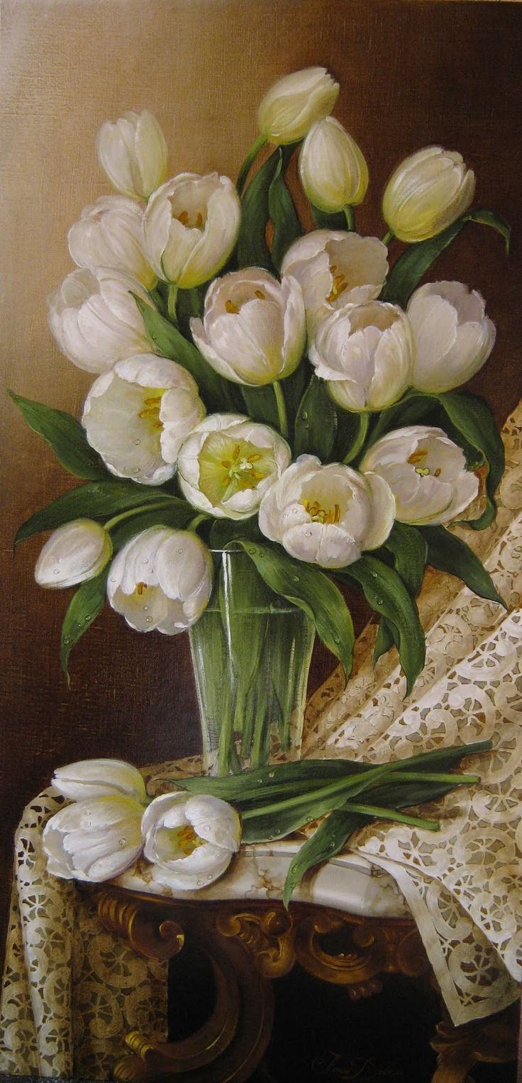 486 Best Images About Wondrous Floral Painting On