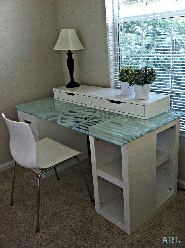 Best 25+ Ikea glass desk ideas on Pinterest | Ikea desk ...