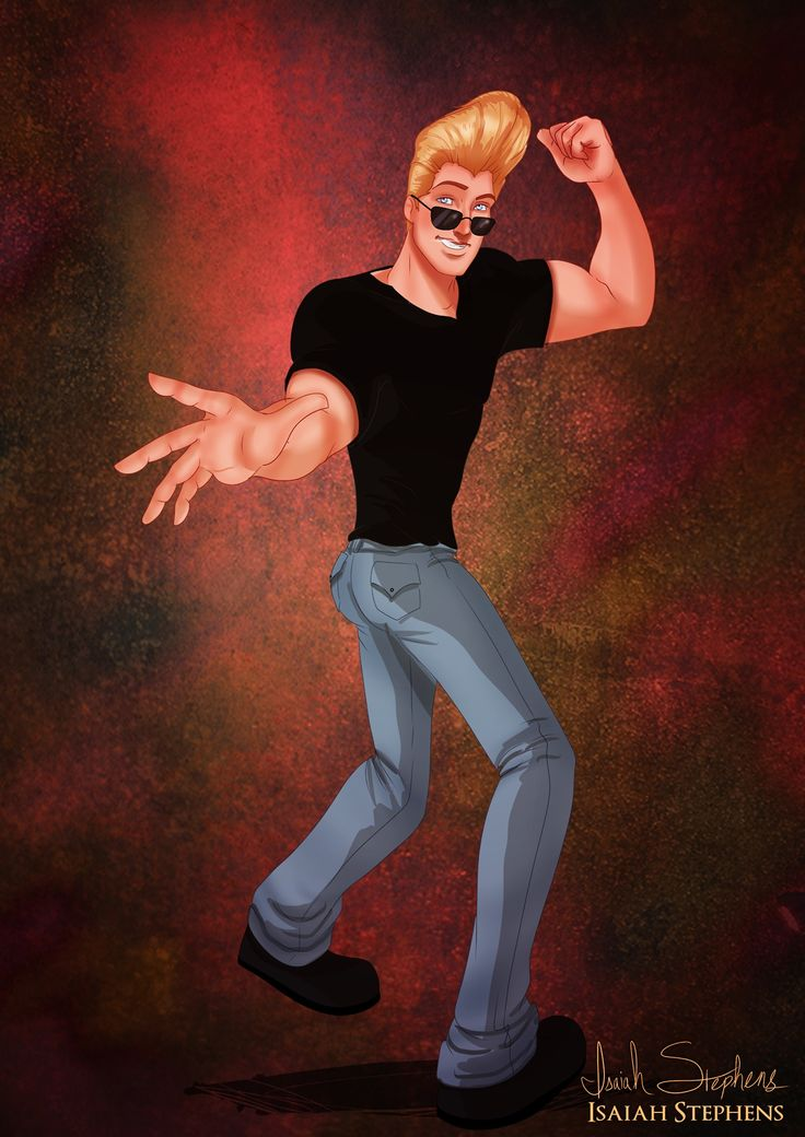 John Smith as Johnny Bravo   See Disney Princesses as Superheroines and Other Characters in Cool Costumes