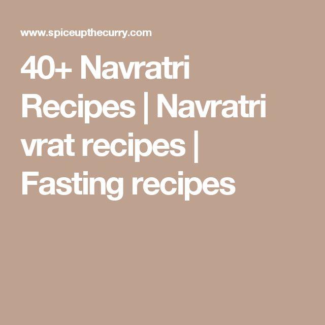 40+ Navratri Recipes | Navratri vrat recipes | Fasting recipes