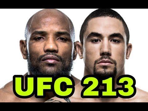 MMA Yoel Romero vs Robert Whittaker at UFC 213, DJ denies Dillashaw