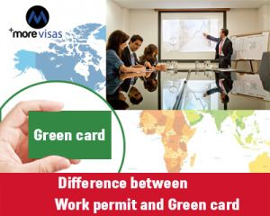 Know the difference between #WorkPermit and #GreenCard...