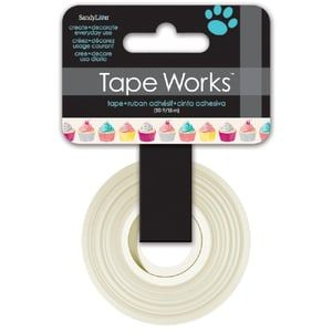 Tape Works, paperiteippi, Cupcakes, 15mmx15m - 3,20 €