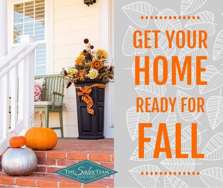 Your Home's Fall Checklist: 1. Check Windows & Doors 2. Inspect Roof & Clean Gutters 3. Trim the Trees 4. Replace Batteries in Home Safety Devices 5. Stock Up on Firewood 6. Put Away all Summer Furniture 7. Check Water Drainage 8. Clean Your Humidifiers 9. Winterize Your Home 10. Invest in a Good Emergency Generator #HelloFall #midland #odessa #permianbasin #homestead #homesteading #family