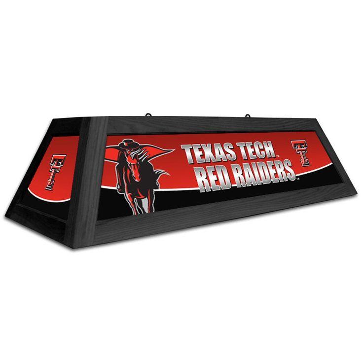 Texas Tech Red Raiders 42u201d Spirit Pool Table Light