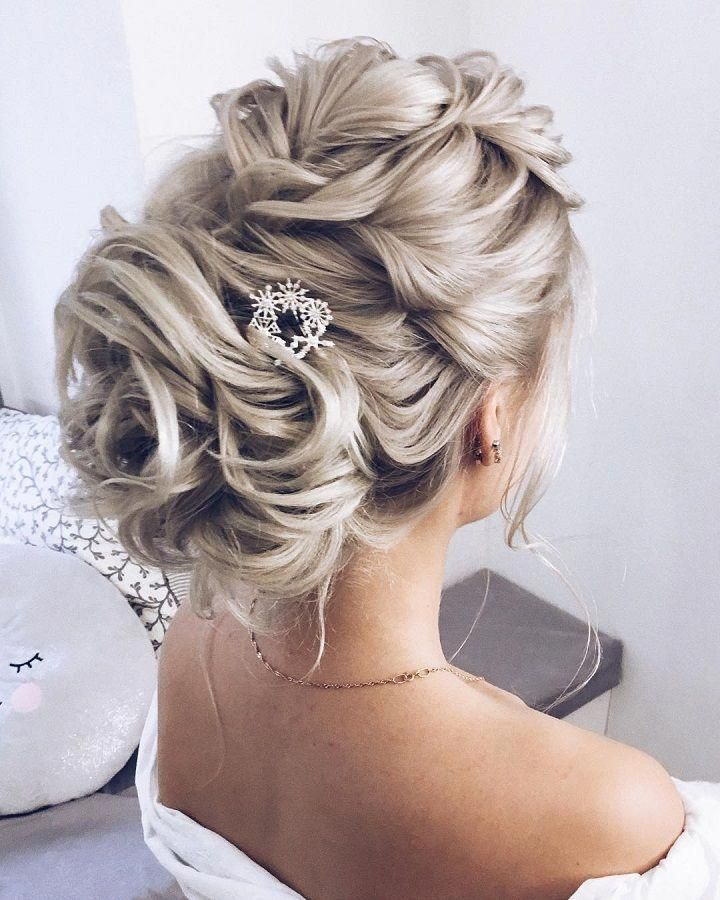Messy Updo Hairstyles Wedding Updo Messy Upstyles Bridal Updo Hairstyle Ideas Wedding Hairstyles Weddinghair Wedding Hairstyles Long Hair Styles Hair Styles