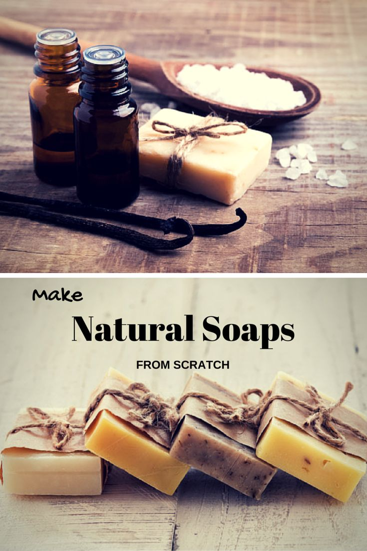 Discover how to craft beautiful, creamy lathering #soaps that are actually good for your skin!