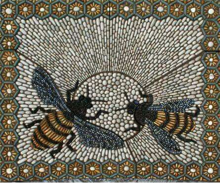 Bees mosaic