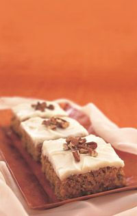 Cinnamon and Pineapple Carrot Sheet Cake - Healthy Recipe Finder | Prevention  find the cake mix at whole foods
