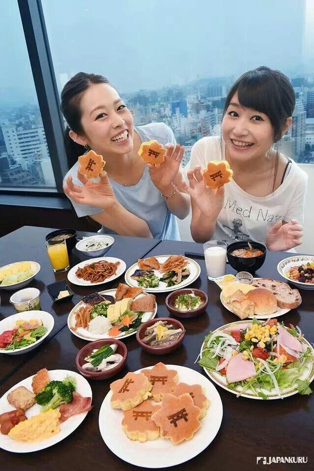 Good morning! Hiroshima  #mitsuigardenhotel #hiroshima #hotel #japankuru #japan #cooljapan #breakfast #momiji #pancake