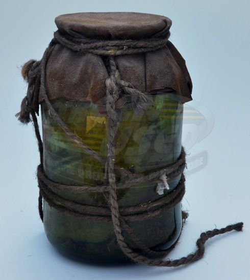 Pirates of the Caribbean: Dead Man's Chest / Glass Jar with Sponges