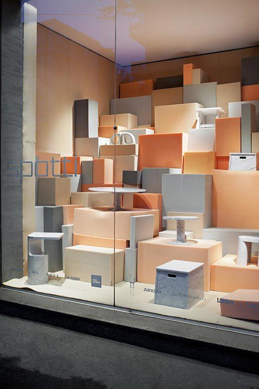 Window Visual Merchandising | VM | Window Display | Foam - studiopepe