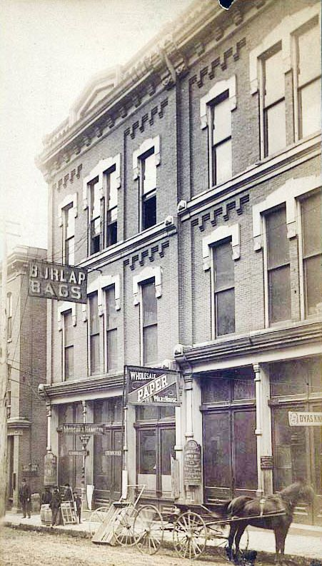 1890 Nashville Tn On 2nd Ave Historic Pictures Of In 2018 Pinterest Tennessee And