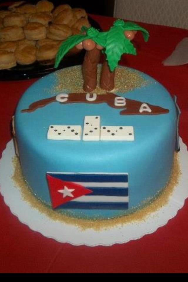 Cuban Birthday Cake