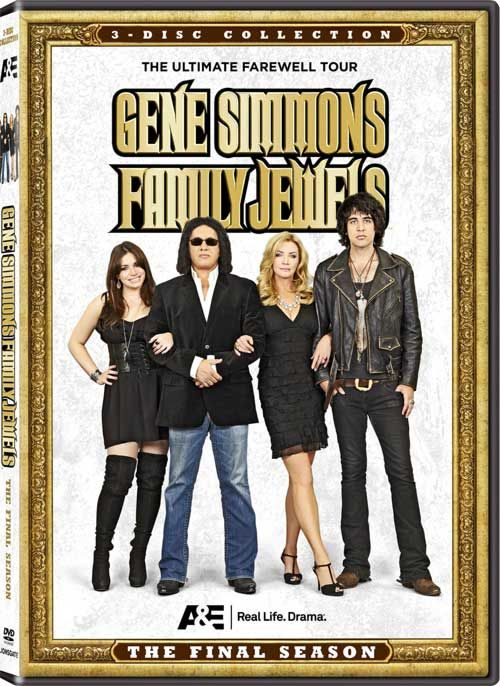 Gene Simmons: Family Jewels - The 7th and Final Season Coming to DVD from A+E