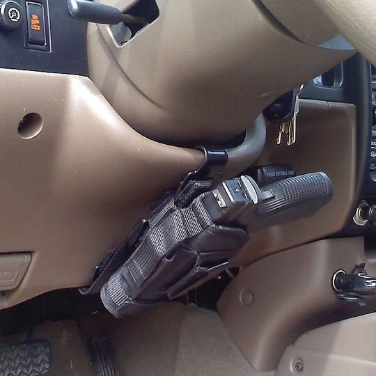 #carcarry Holster mount for your car.