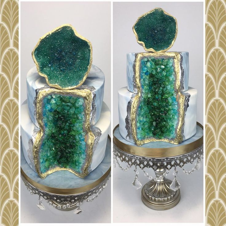 Amazing rock Geode Cake!!  See this Instagram photo by @layerafterlayer • 141 likes