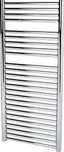 Kudox O Profile Towel Rail Chrome 1100 x 500mm 1430Btu. 419W. Steel construction with a high quality chrome-plated finish. Supplied with wall brackets, bleed plugs and fixings. http://www.comparestoreprices.co.uk/january-2017-9/kudox-o-profile-towel-rail-chrome-1100-x-500mm.asp