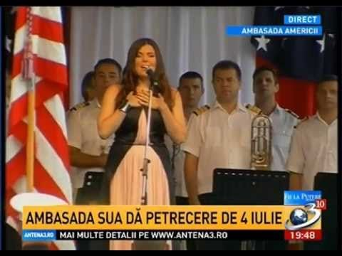 Paula Seling - The Star Spangled Banner / The National Anthem of the USA