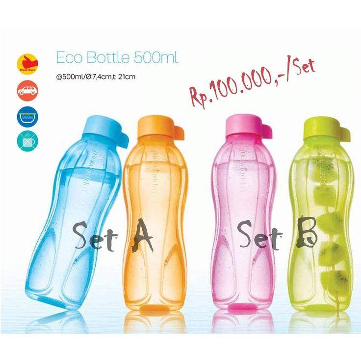 Temukan dan dapatkan Tupperware Eco Bottle 500ML (2pcs) - Botol Minum hanya Rp 85.000 di Shopee sekarang juga! https://shopee.co.id/tupperwaredjakarta/6492766 #ShopeeID