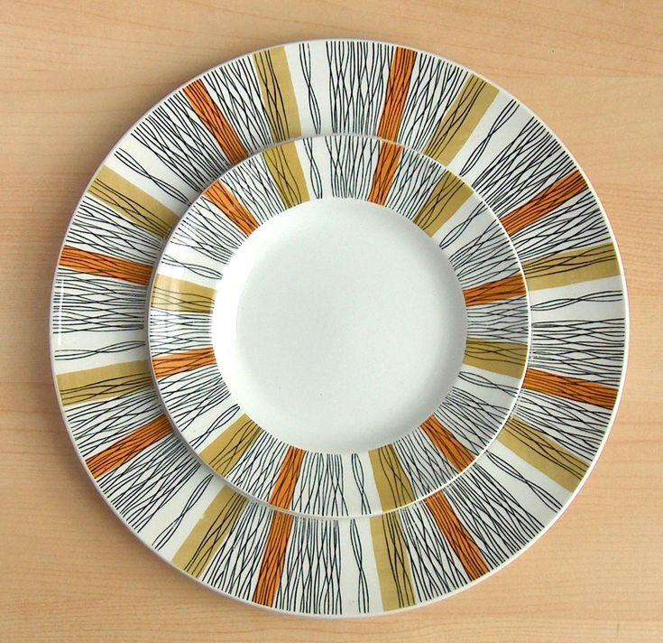 Sienna pattern by Jessie Tait, 1960s
