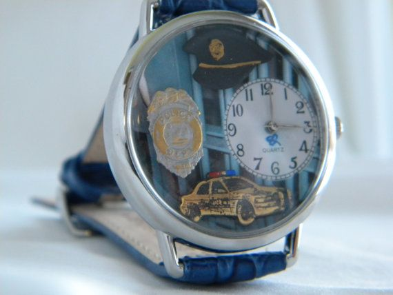Police Watch by SunnyRiverCreations on Etsy