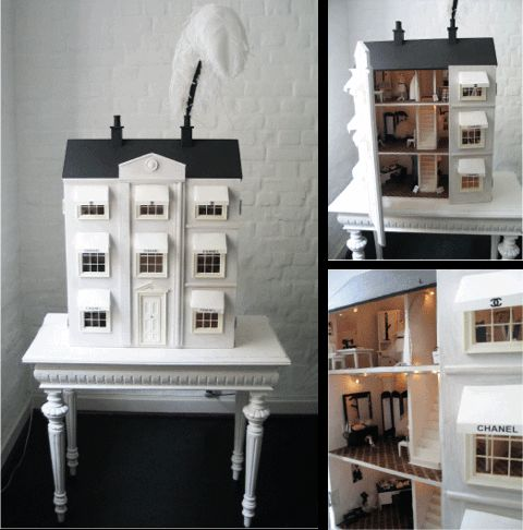 """Chanel´s House of Fashion""Scale 1:12 Doll house"