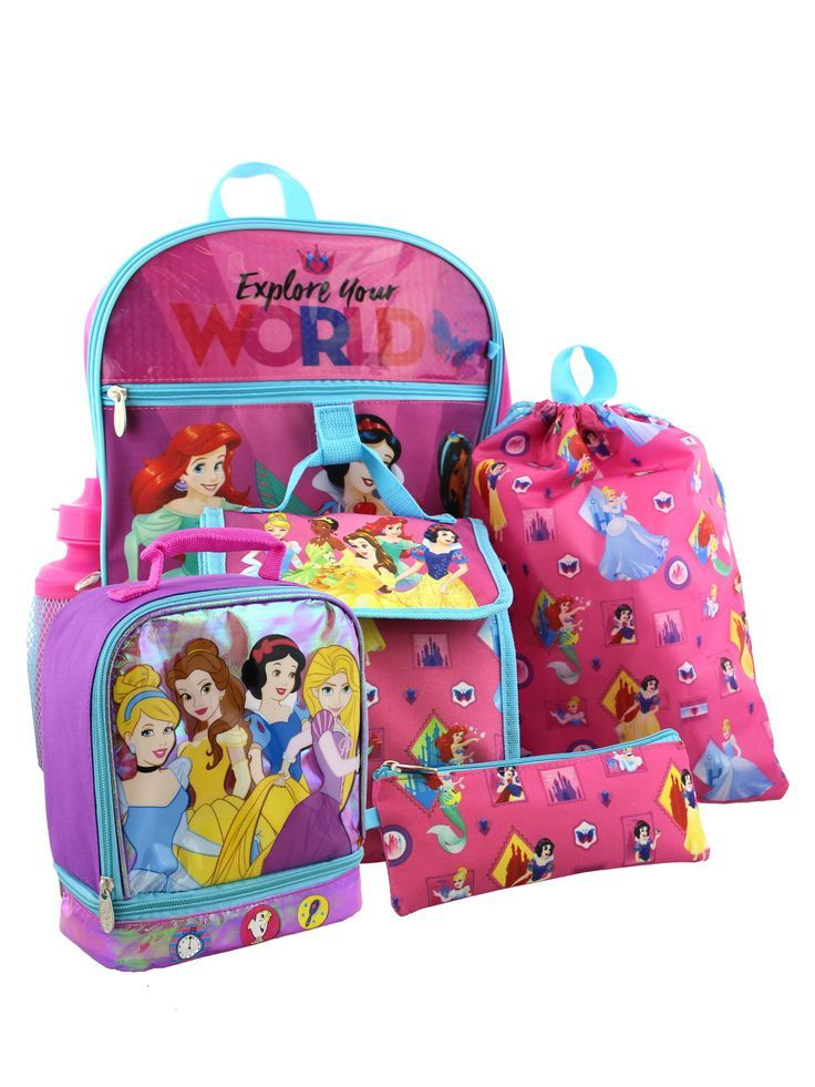 4d9e9cb90c3 Get your child ready for school with this Yankee Toy Box exclusive Disney  Princess 6-
