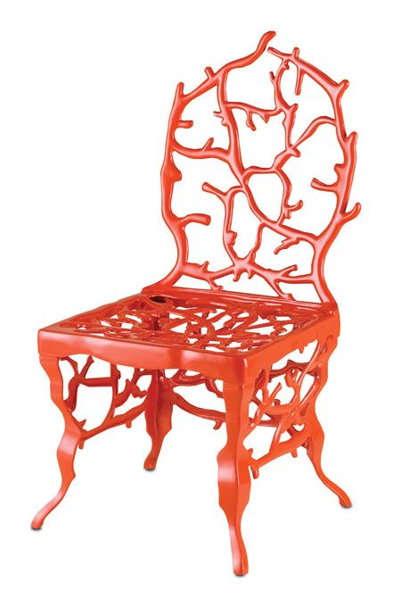 Corail Chair / Sneak Peek: Marjorie Skouras for Currey and Co. / The English Room Blog