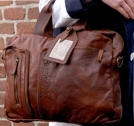 leather bag from cowboysbag.