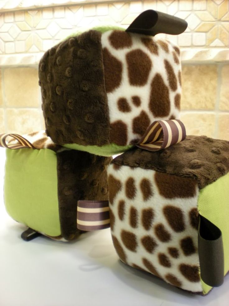 Adventures In Fluff: Sewing Up Some Fun For Baby - How To Sew Baby Blocks
