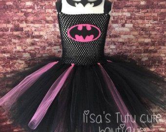 Cumpleaños Venta Batman tutú vestido de Batman por LisasTutus