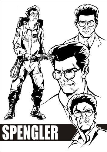 Ghostbusters - Egon Spengler by Valerio Schiti